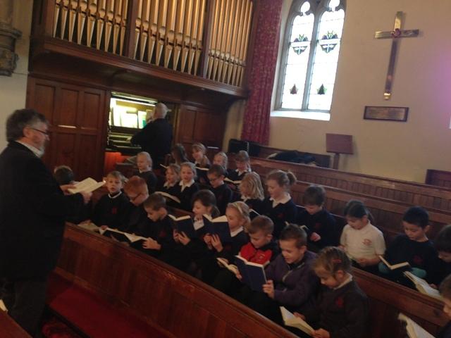 Stocksbridge School visit