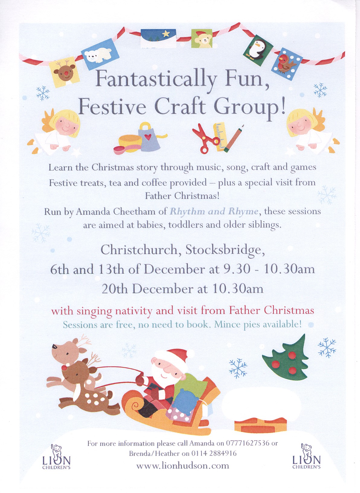 new childrens christmas singing christ church stocksbridge - Christmas Story For Toddlers